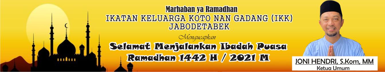 Iklan Joni Hendri Ketua IKK Jabodetabek (biru)