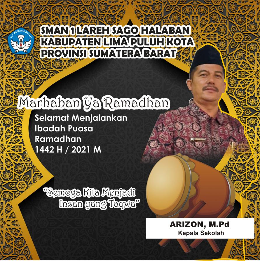 Iklan Ramadhan Kepala SMAN 1 LSH Liko ok