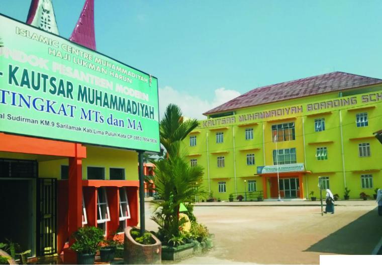 Pondok Pesantren Modern Al Kautsar Muhammadiyah Sarilamak, Kabupaten Limapuluh Kota. NET