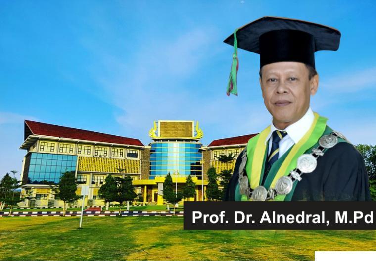 Dekan FIK UNP, Prof. Dr. Alnedral, M.Pd akan dikukuhkan sebagai Guru Besar UNP, Kamis (06/05/2021). JNC