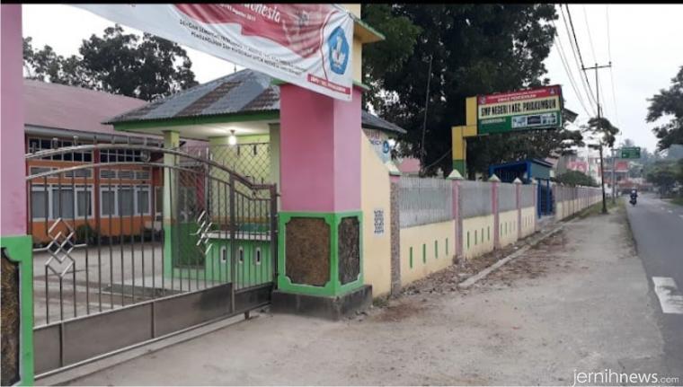 SMPN 1 Kecamatan Payakumbuh Kabupaten Limapuluh Kota yang dulu bernama SMPN Bunga Setangkai. IST