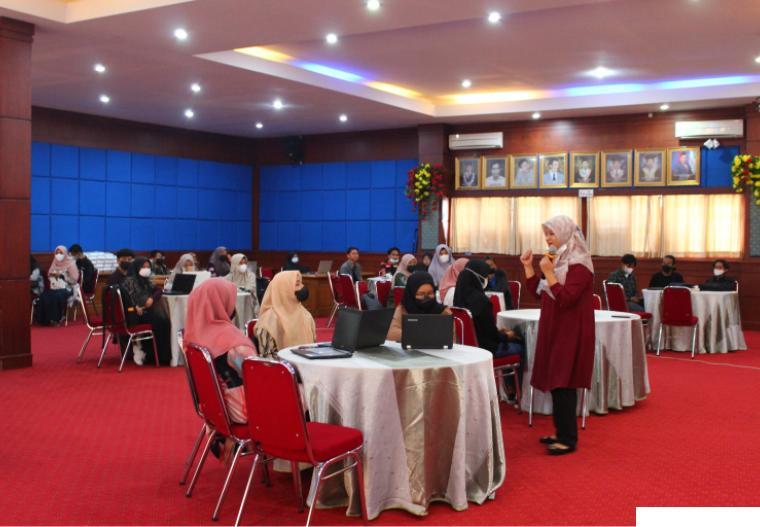 Kegiatan pelatihan dan pendampingan penyusunan Program Kreativitas Mahasiswa (PKM) ITP DOK ITP/ Mia Aulia