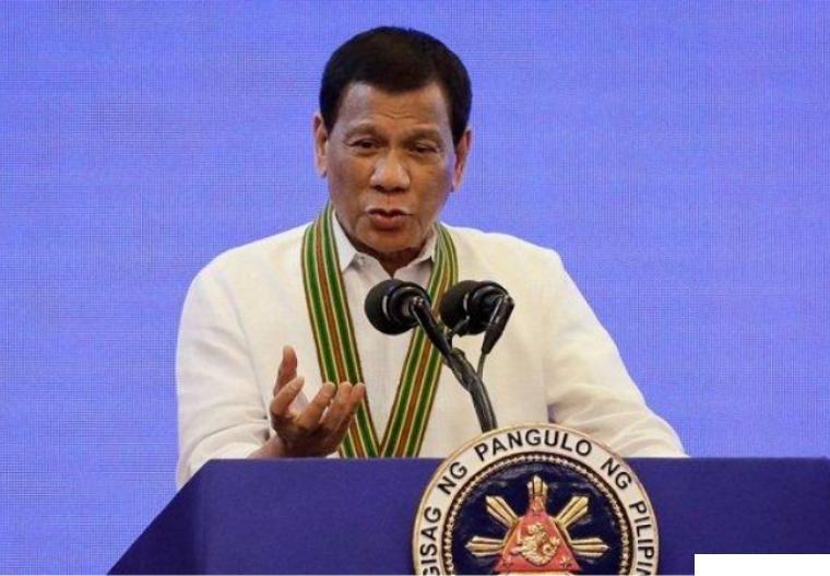 Presiden Filipina Rodrigo Duterte. NET