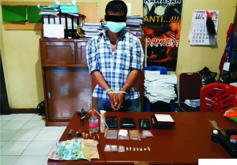 Diduga Jual Sabu, Pria 51 Tahun Ditangkap Polres Pariaman