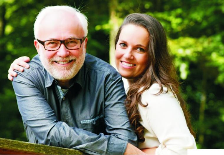 Ilustrasi pasangan suami istri yang terpaut beda usia. NET