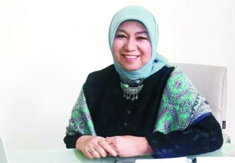 Hj. Nurhayati Subakat, CEO Wardah. NET
