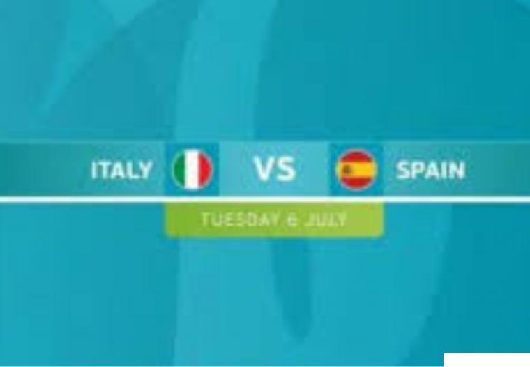 Italia dan Spanyol akan berlaga di semifinal Euro 2020, Rabu (07/07/2021) dinihari WIB. NET