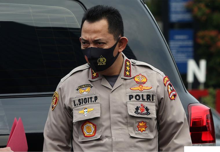 Kapolri Jenderal Listyo Sigit Prabowo. NET