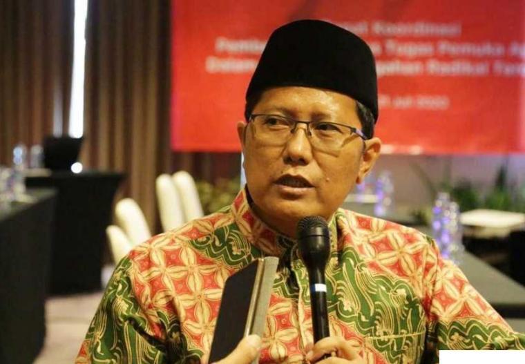 Ketua MUI KH. Cholil Nafis. NET