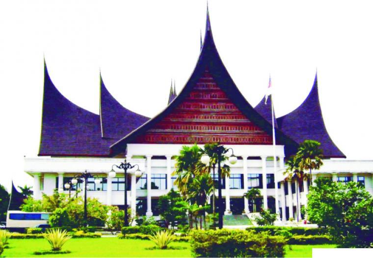 Gedung Kantor DPRD Provinsi Sumatera Barat. NET