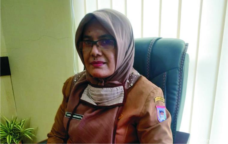 Usfa Haryanti, SP, Sekretaris Dinas Pertanian Kota Payakumbuh. NITA