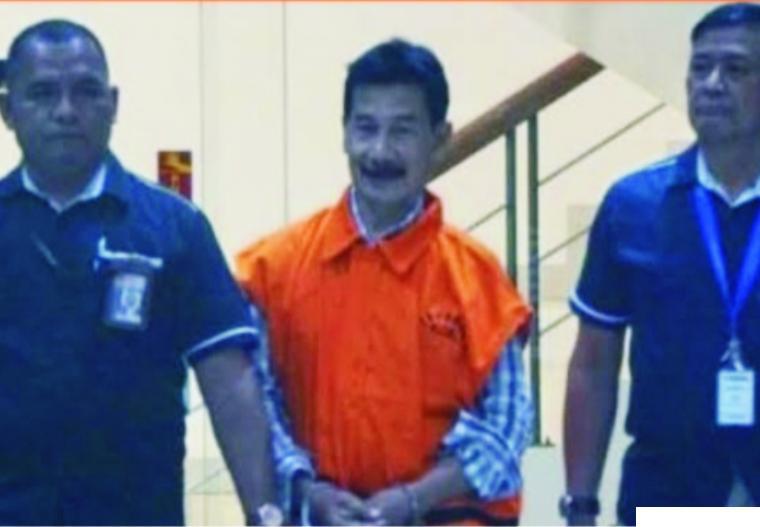 Muzni Zakaria, Bupati Non-aktif Solsel Divonis 4 Tahun Penjara