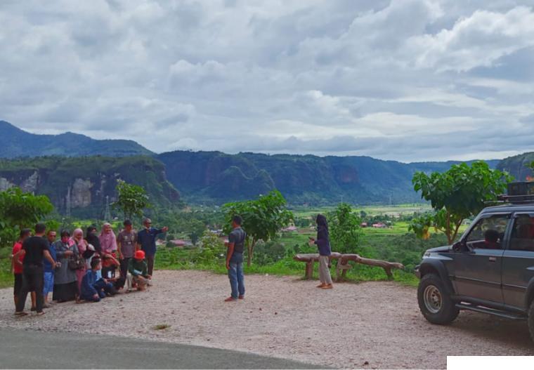 Panorma Ngalau Oguang, Harau yang menyuguhkan pemandangan yang indah bagi wisatawan. ERZ
