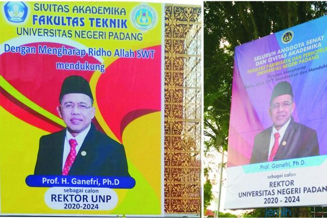 Pemilihan Rektor UNP 'Serasa' Pilkada