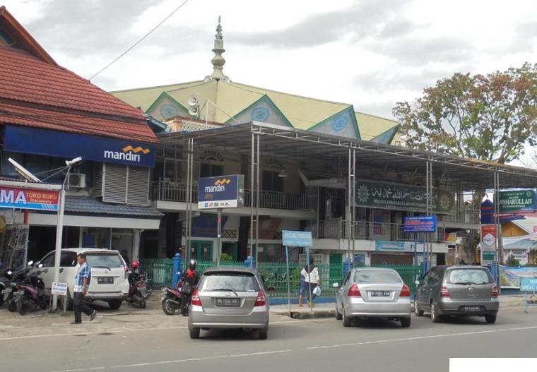 Masjid Ansharullah Muhammadiyah, Jl. Sudirman, Payakumbuh. NET