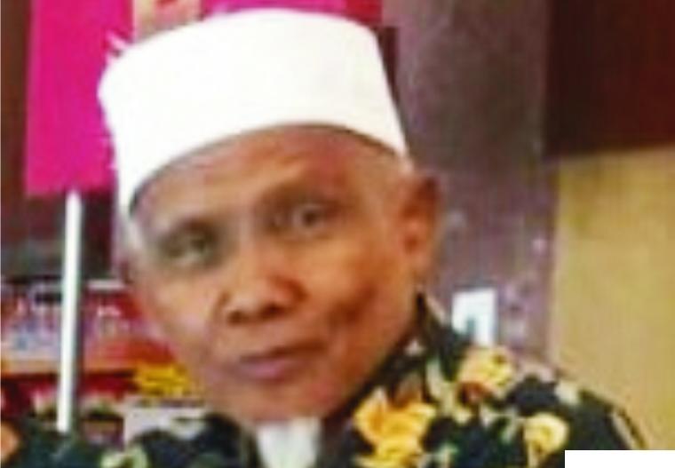 Buya H. Sudirman Syair, Pimpinan Ponpes As Sa'adiyyah, Simalanggang, Kabupaten Limapuluh Kota. JNC