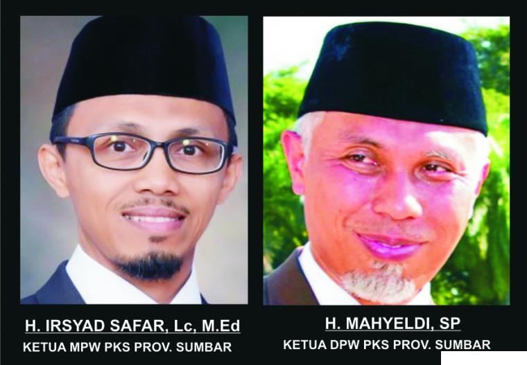 H. Irsyad Safar, Lc, M.Ed dan H. Mahyeldi, SP