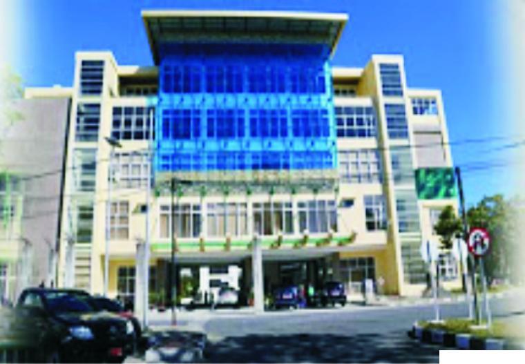 Kampus Fakultas Ilmu Pendidikan (FIP) Universitas Negeri Padang (UNP) di Air Tawar, Padang.
