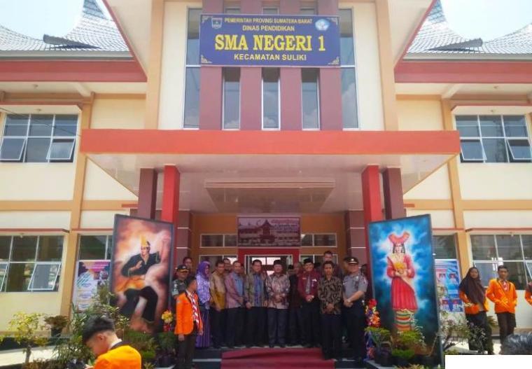 SMAN 1 Suliki Kabupaten Limapuluh Kota. NET