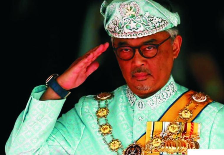 Raja Malaysia Sultan Abdullah. NET