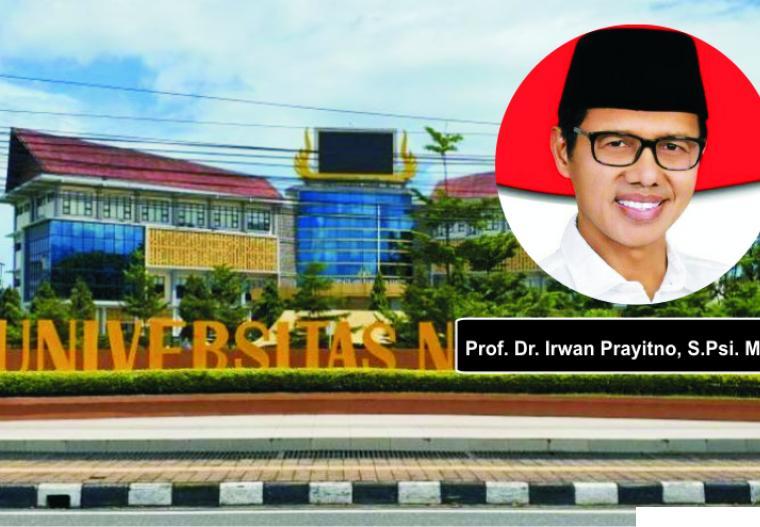 Prof. Dr. Irwan Prayitno, S.Psi. M.Sc, selepas dari Gubernur Sumbar, dia akan dikukuhkan menjadi Guru Besar Luar Biasa Universitas Negeri Padang (UNP). JNC