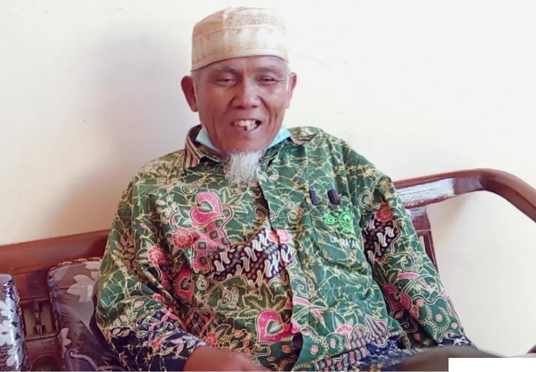 KH. Sudirman Syair, Pimpinan Pondok Pesantren Ma'arif Assa'adiyah Batu Nan Limo Simalanggang, Kabupaten Limapuluh Kota. ERZ
