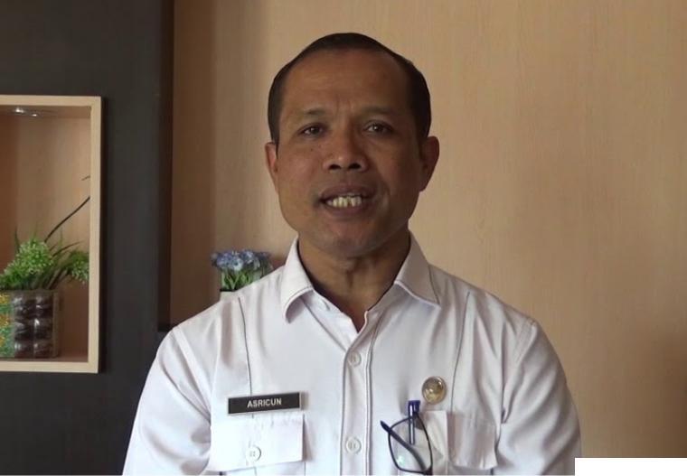 Drs. Asricun, M.M.Pd, Kepala Cabang Dinas Pendidikan Wilayah IV Sumbar. ERZ