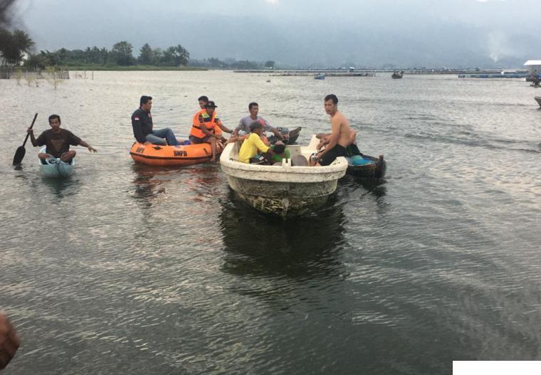 Siswa SMP Tewas di Danau Maninjau