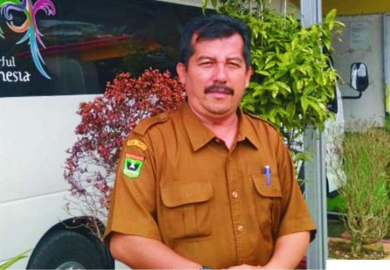 Arizon, M.Pd, Kepala SMAN 1 Lareh Sago Halaban (LSH) Kabupaten Limapuluh Kota. ERZ