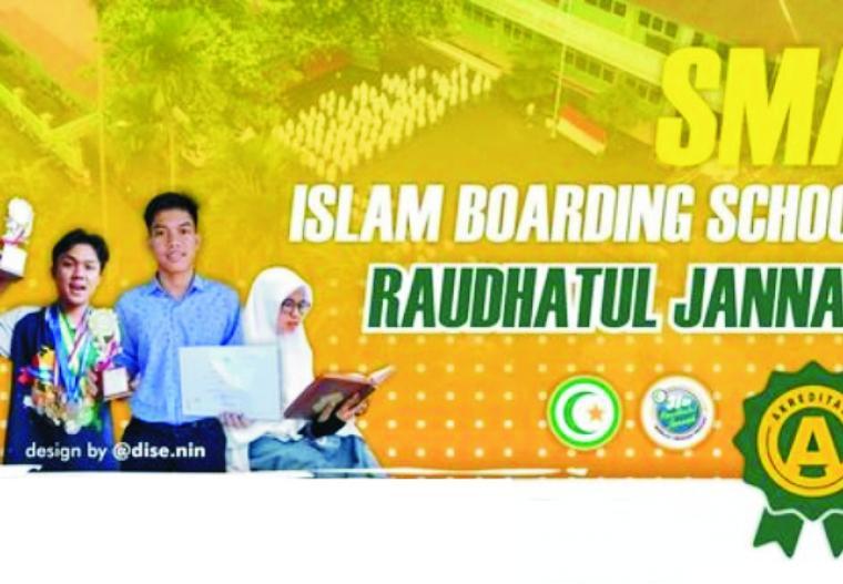 SMA Islam Boarding School Raudhatul Jannah Kota Payakumbuh. FB YPI RJ