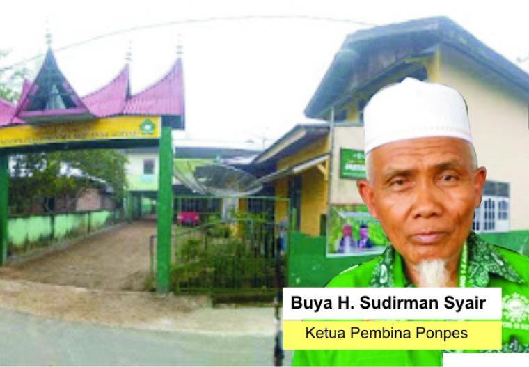 Buya H. Sudirman Syair dengan latar belakang Pondok Pesantren Ma'arif As Sa'adiyah, Batu Nan Limo, Simalanggang, Kabupaten Limapuluh Kota, yang didirikannya sejak tahun 1995 silam. JNC