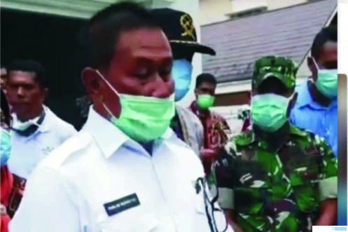 Walikota Bukittingi Ramlan Nurmatias, memberikan keterangan, Kamis (26/03/2020) di Bukittinggi. NET