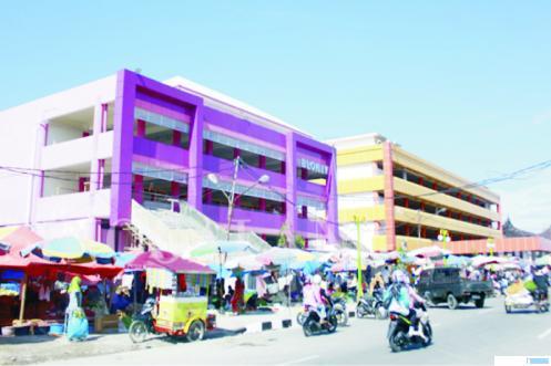 Pasar Raya Kota Padang. NET