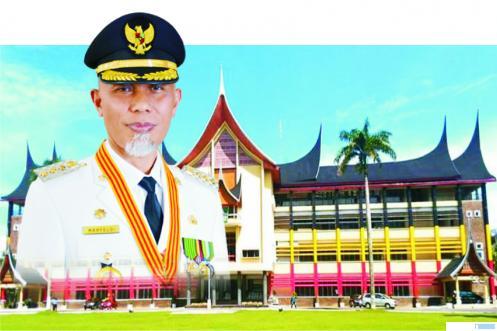 Cagub Sumbar, Mahyeldi yang kini menjabat sebagai Walikota Padang untuk periode kedua. JNC