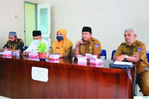 Pemko Payakumbuh membahas insentif untuk guru mengaji, garin dan juga guru tahfiz. Kali ini pembahasan di Kecamatan Payakumbuh Utara. HPP