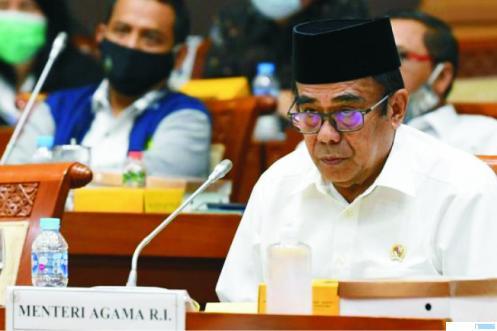 Menteri Agama Fachrul Razi. NET