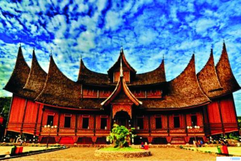 Istano Pagaruyuang di Kabupaten Tanah Datar. IST