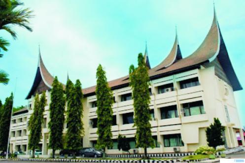 Kantor Dinas Pendidikan Provinsi Sumatera Barat. NET
