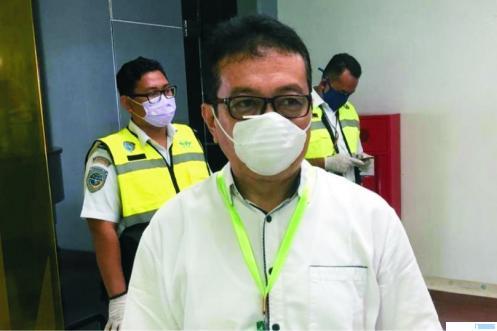 Jasman Rizal, Juru Bicara Gugus Tugas Percepatan Penanganan Covid-19 Sumbar. NET