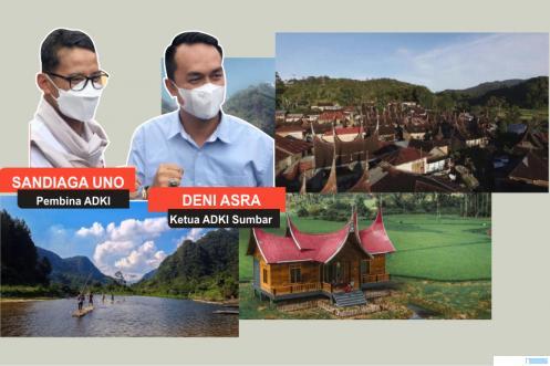 6 Nagari di Sumbar Masuk Dalam 46 Desa Kreatif Se-Indonesia, 3 dari Kab. 50 Kota
