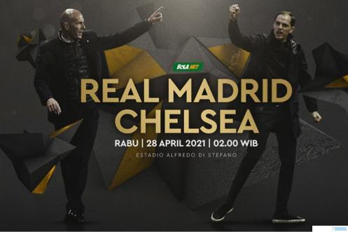 Real Madrid Vs Chelsea. BOLANET