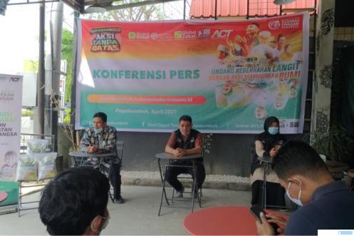 Aksi Cepat Tanggap (ACT) yang resmi hadir di Kota Payakumbuh dan Kabupaten Limapuluh Kota, mulai Kamis (08-04-2021). NITA