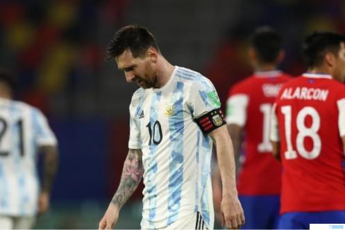 Kapten Timnas Argentina Lionel Messi. NET