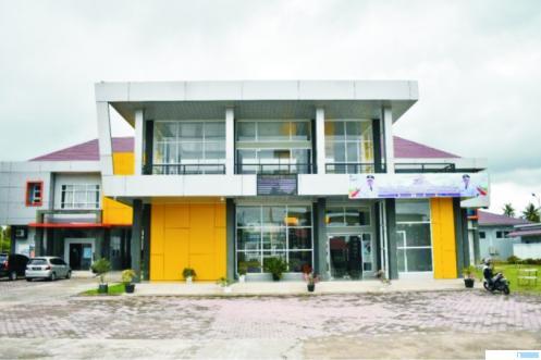 Kantor Dinnakerperin Kota Payakumbuh di kawasan Padang Kaduduak. NET