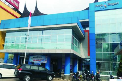 Kantor Bank Nagari Cabang Payakumbuh. NITA