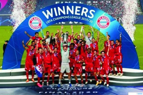Bayern Munchen Juara Liga Champions 2020, setelah mengalahkan PSG di final, Senin (24/08/2020) dini hari WIB. NET