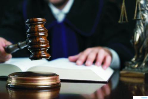 Ilustrasi proses pengambilan keputusan di pengadilan. NET