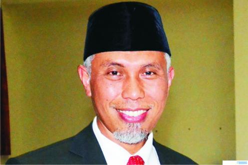 Walikota Padang, Mahyeldi yang kini masih menjabat sebagai Walikota Padang periode kedua. NET