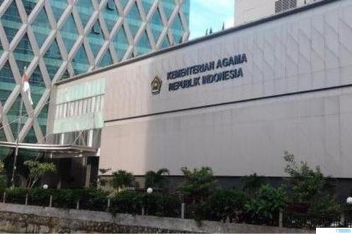 Kantor Kementerian Agama RI di Jakarta. NET