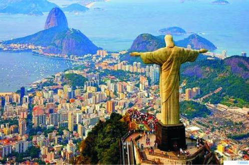 Ibukota Brazil Rio Janeiro. NET